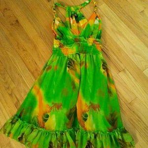 Bright Summer Dress Size 8
